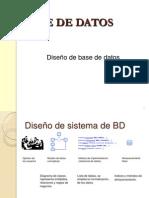 diseño de base d datos