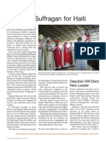 Bishop Suffragan for Haiti