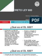 Proyecto Minero - Decreto Ley 600