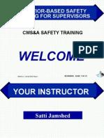 Behavior-based Safety for Supervisors