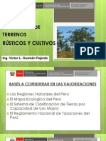 4. Valuación de Terrenos Rústicos y Cultivo