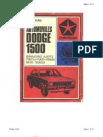 Reparacion Dodge 1500