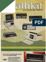 Catalog y1984 Heathkit No865 Spring Archive Computer Dch h89 Kit