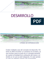 Desarrollo Concepciones en Urbanismo