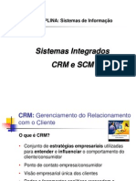 Aplicativos Integrados CRM e SCM