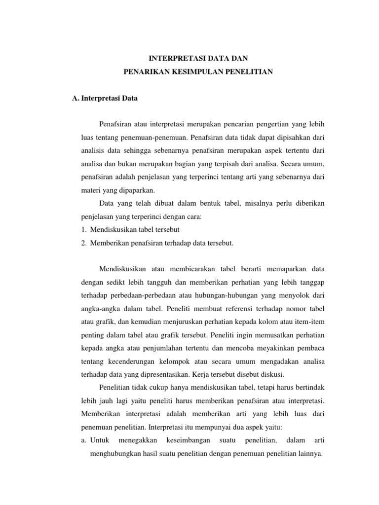 Contoh Kesimpulan Tesis Kuantitatif Contoh Soal Dan Materi Pelajaran 8