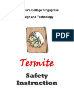 safety instruction booklet