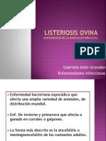 Listeriosis Ovina ppt