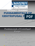 Fundamentals of Centrifugal Pumps