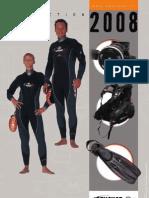 Catalogo Beuchat Mergulho 2008