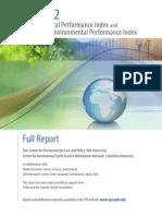 Índice de Desempeño Ambiental EPI 2012