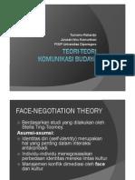 Teori-teori Komunikasi Kultural