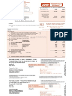 Bruce & Darlene Schwichtenberg 2009 Property Tax Statement