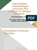 Presentation Minggu 1 Perkembangan Kurikulum PSV