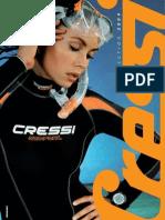 Catalogo Cressi Mergulho 2009