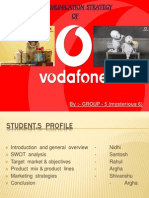 Communication Strategy of Vodafone