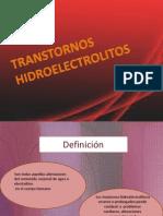 transtornos hidroelectrolitos