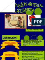 Hipertension Arterial en Pediatria- Grette