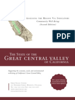 Assessing The Community Well-Being of the Great Valley Center - 2006