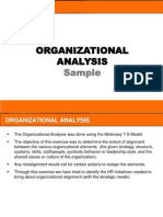 7S Analysis - A Sample