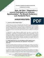 Diagnostico y diseño participativo en SAF