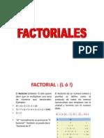 Factorial Es