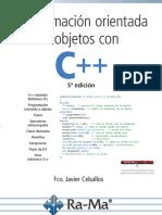 Ceballos: Programación orientada a objetos con C++ 5Ed