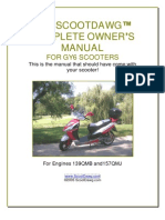 Dawg Scooter Manual
