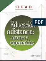 Educación a distancia actores y experiencias