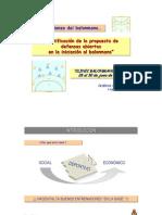 Justificacion de Las Defensas Abiertas en El Balonmano Base. Isidoro Martinez
