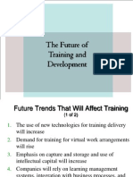 Future of Training and Development