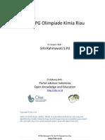Soal Pilihan Ganda Olimpiade Riau