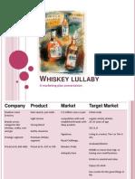 Whiskey m Plan
