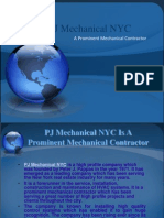 PJ Mechanical NYC Is A Prominent Mechanical Contractor