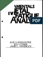 Fundamentals of Metal Fatigue Analysis