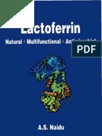 Lactoferrin-Natural Multifunctional Antimicrobial