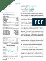 Venturex Resources June 2012