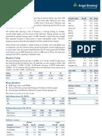 Market Outlook 270612