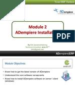 02 ADempiere Installation - Win32