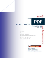 Philippines Remittance Industry Report 2006 Modified