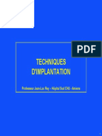 Techniques Implantation Prof Rey_JJT