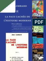 Larisse Ernest - Jean Lombard et la face cachée de l'histoire moderne