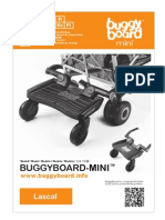 Lascal BuggyBoard-Mini Owner Manual 2012 (Japanese)