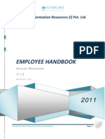 Employee Handbook v 1.2