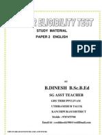 Paper 2 english 4mb pdf for TET