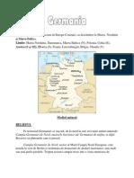 Proiect Geografie Germania