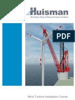 Huisman - Installation Cranes