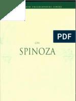 Steinberg, Diane - On Spinoza