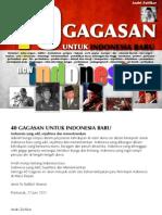 40 GAGASAN SEPUTAR INDONESIA BARU