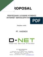 Proposal Pengadaan Internet